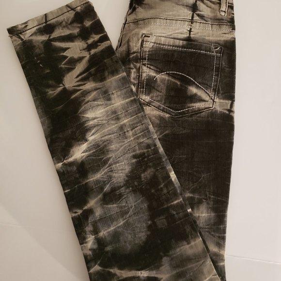 Jeanlest Denim - Tie-Dyed Skinny Jeans